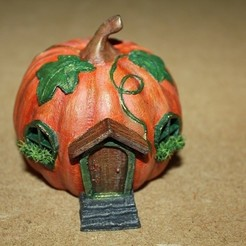 Download 3D printing designs Pumpkin Hut, Stuwaha