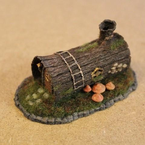 3D print files House in a Log, Stuwaha