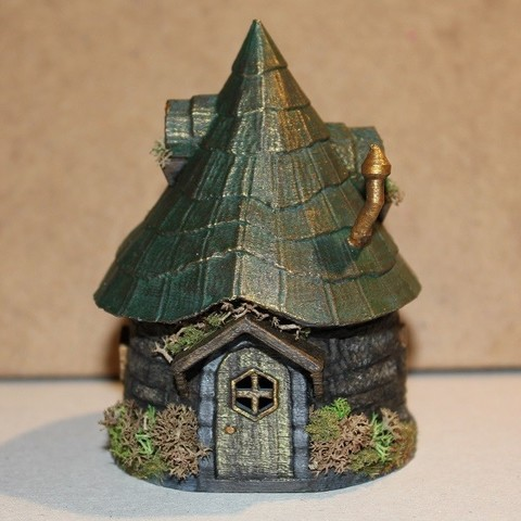 Download 3D printer files Fairy Hut, Stuwaha