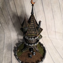 Download free STL file Fates End - Dice Tower - FREE Wizard Tower! • 3D printable model, Stuwaha