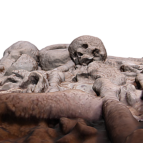 Capture d'écran 2017-11-13 à 16.42.36.png Download free OBJ file Collective burial of Escoural Cave • 3D printing design, MonteMorbase