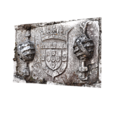 Free Coat of Arms of King D. Manuel - Guarda House 3D printer file, MonteMorbase