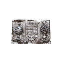 Free 3D print files Coat of Arms of King D. Manuel - Guarda House, MonteMorbase