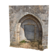 Free 3D file Medieval Door of the Church of Saint John the Baptist, MonteMorbase
