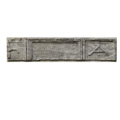 Download free STL files Roman epigraph, MonteMorbase