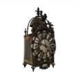Free 3d print files French Lantern Clock, MonteMorbase