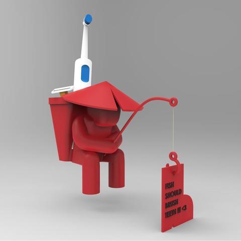 Free STL file SINKsherman: Clean Toothbrush Pot, TayoTayo