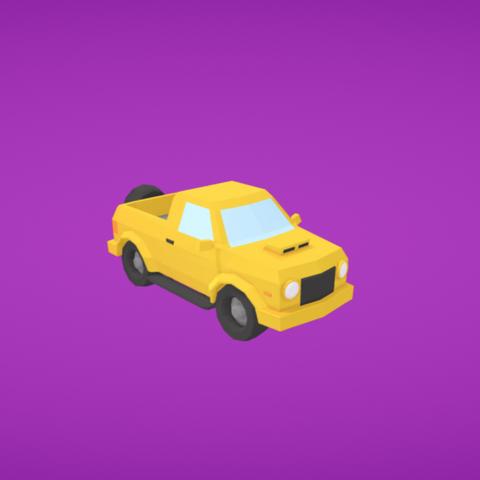 Free 3D printer file Jeep, Colorful3D