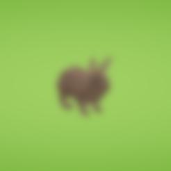 Mesh_Rabbit.obj Download free OBJ file Rabbit • 3D printer object, Colorful3D