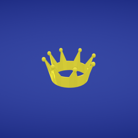 Free Crown STL file, Colorful3D