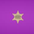 Capture d'écran 2017-11-15 à 17.30.23.png Download free OBJ file Sheriff star • 3D print design, Colorful3D