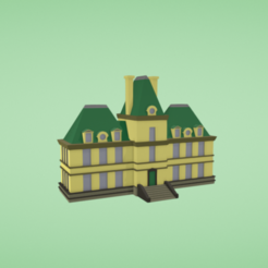 Download free 3D printing models Palace, Colorful3D