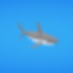 Shark.obj Download free OBJ file Shark • 3D print design, Colorful3D