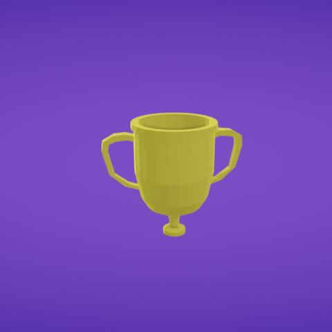 Free 3D printer file Trophy, Colorful3D