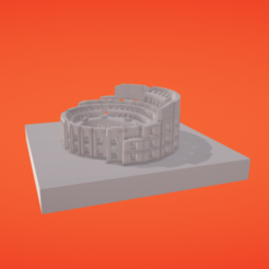 Download free 3D printer designs Coliseum, Colorful3D