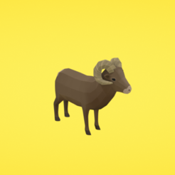 Free 3d print files Bighorn sheep, Colorful3D