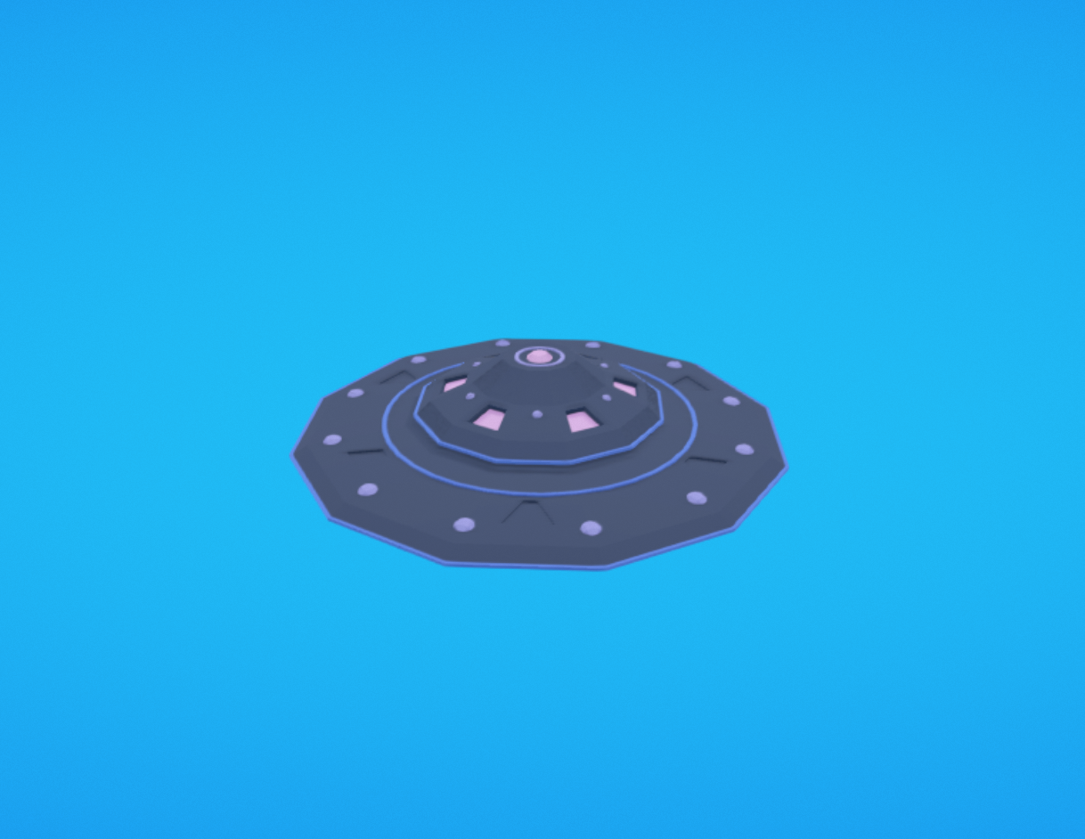 Capture d'écran 2017-11-14 à 19.40.37.png Download free OBJ file Flying saucer • 3D printing template, Colorful3D