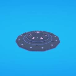 Free 3d printer files Flying saucer, Colorful3D