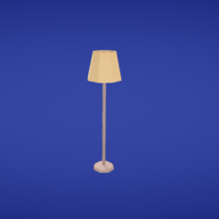 modelo stl gratis Lámpara de pie, Colorful3D