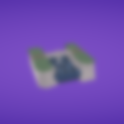 Free 3D printer files Rock bridge and environment, Colorful3D