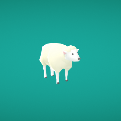 Free 3D file Sheep, Colorful3D