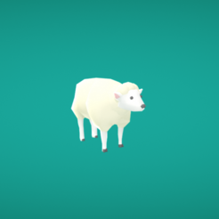 Free STL file Sheep, Colorful3D