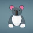 Capture d'écran 2018-01-11 à 19.34.43.png Download free OBJ file Koala • 3D printable design, Colorful3D