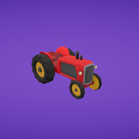 Free 3D printer designs Tractor, Colorful3D