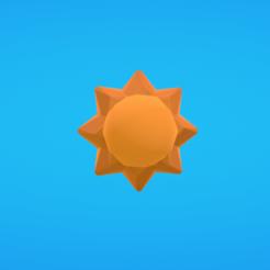 Modelos 3D para imprimir gratis Sol, Colorful3D