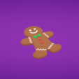 Capture d'écran 2017-11-28 à 16.24.30.png Download free OBJ file Gingerbread man • 3D printing model, Colorful3D