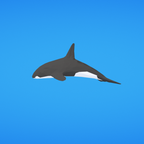 Free Orca STL file, Colorful3D