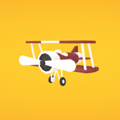 Download free 3D model Airplane, Colorful3D
