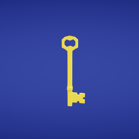 Free stl Key, Colorful3D