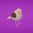 Capture d'écran 2018-01-11 à 14.17.14.png Download free OBJ file Sparrow • 3D print template, Colorful3D