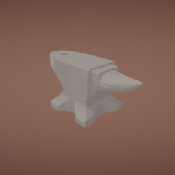 Download free 3D printer model Anvil, Colorful3D
