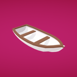 Free 3D print files Rowboat, Colorful3D