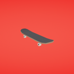 Download free 3D printer model Skateboard, Colorful3D