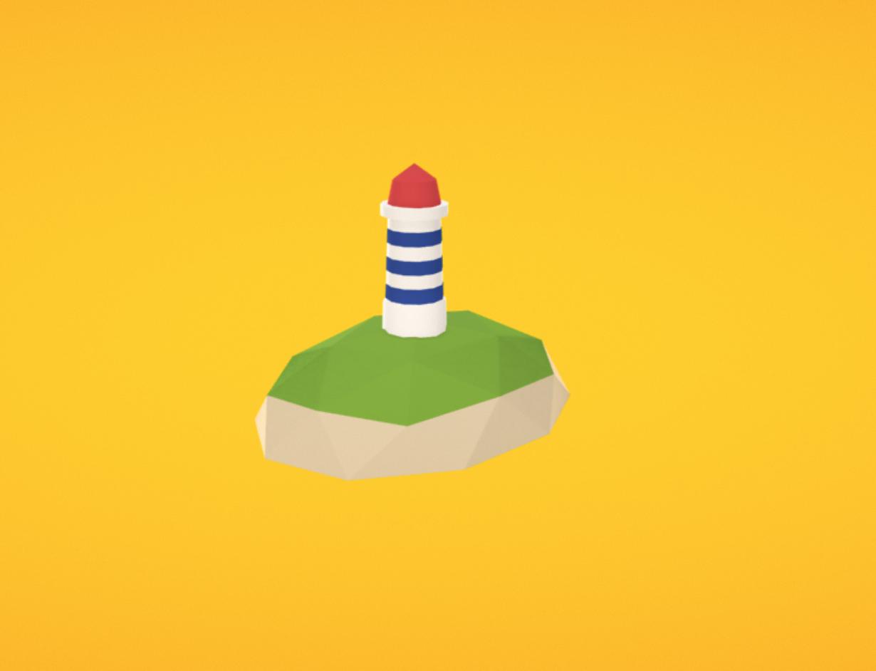 Capture d'écran 2017-11-30 à 17.02.20.png Download free OBJ file Lighthouse • 3D printing template, Colorful3D