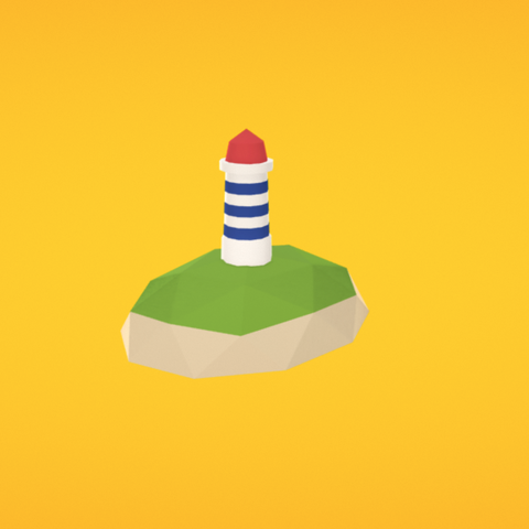 Free Lighthouse 3D printer file, Colorful3D