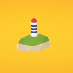 Free 3d printer files Lighthouse, Colorful3D