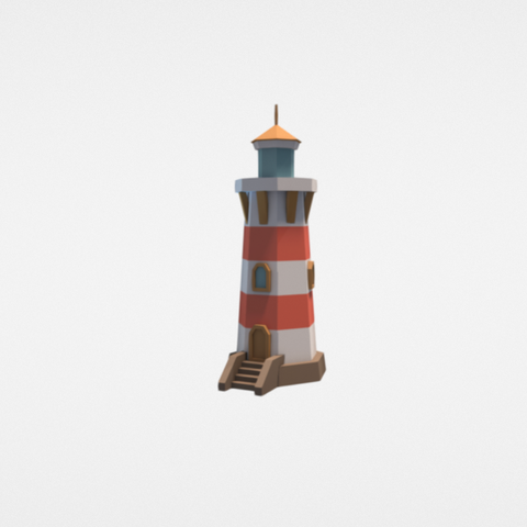 Download free 3D printer model Lighthouse, Colorful3D