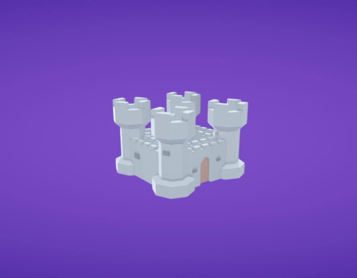 Capture d'écran 2017-11-28 à 16.59.22.png Download free OBJ file Castle • Model to 3D print, Colorful3D