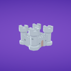 Download free 3D printer model Castle, Colorful3D