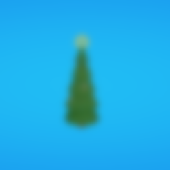 Free Christmas tree 3D printer file, Colorful3D