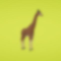 Free 3D printer files Giraffe, Colorful3D