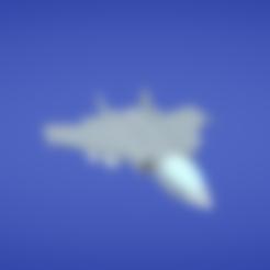 Free stl file Jet / plane / aircraft, Colorful3D