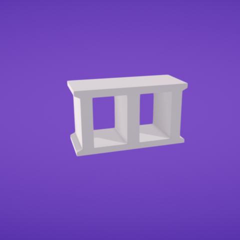 Fichier 3D gratuit Bloc de cendre, Colorful3D