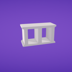 Download free 3D printer files Cinder block, Colorful3D