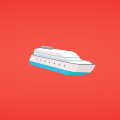 Free STL Cruise liner, Colorful3D