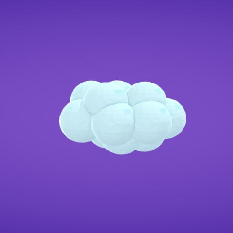 Free 3d printer designs Cloud, Colorful3D